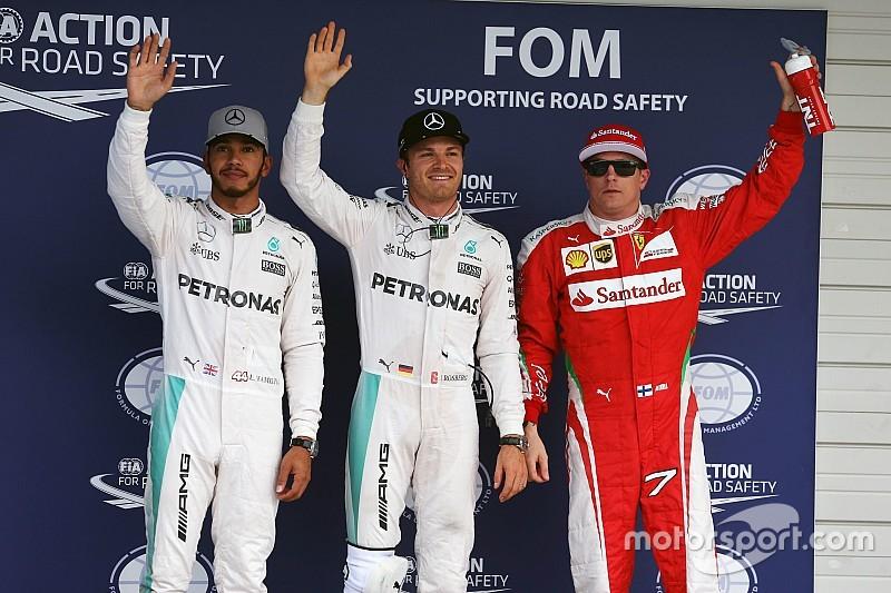 Rosberg golpea de nuevo y se lleva la pole