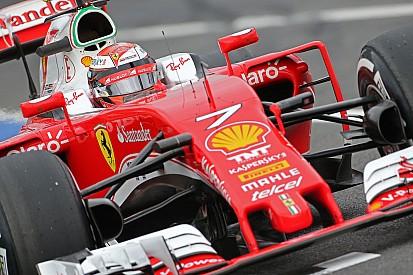 Em 3º, Kimi se surpreende com velocidade da Ferrari