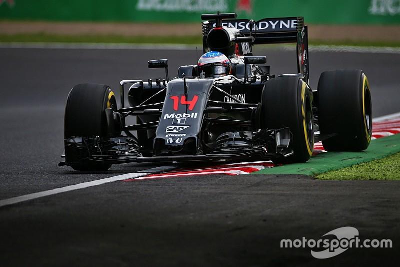 "Alonso baalt op Suzuka: ""Honda-update niet sneller"""
