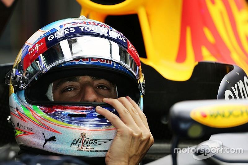 Ricciardo verbaasd door snelheidsverschil ten opzichte van Verstappen