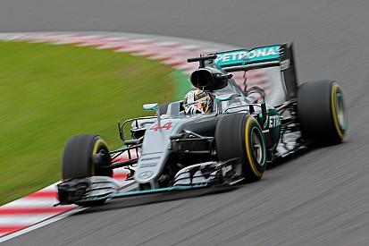Mercedes-duo zonder 'qualifying boost' op Suzuka