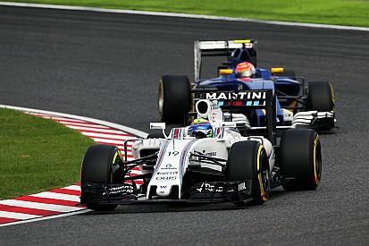 Un problema de display provocó la primera reprimenda de Massa en F1