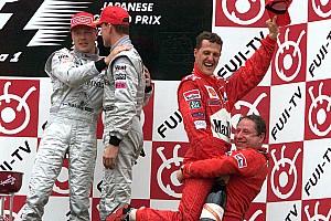 F1 Top List Todos los ganadores y podios del GP de Japón desde 2000