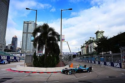 La grille de départ de l'ePrix de Hong Kong