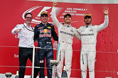 GP Jepang: Rosberg juara pertama, Mercedes kunci titel konstruktor