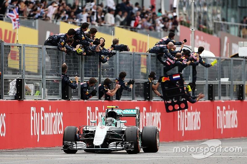 F1日本GP決勝:ロズベルグが鈴鹿初優勝。ハミルトンはまたしてもスタート失敗