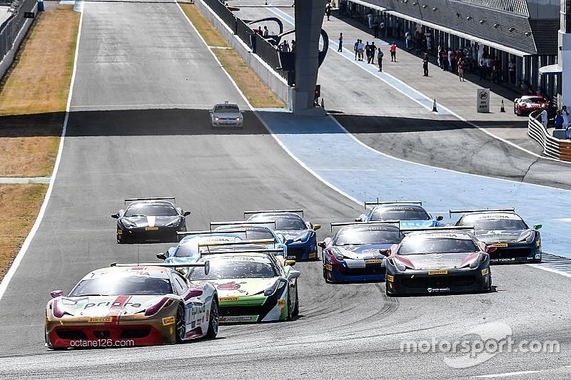 Ferrari Challenge Europe: Grossmann, Smeeth e Prinoth dominano a Jerez