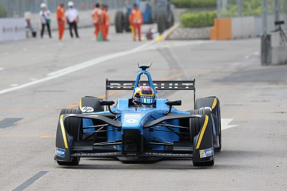 Buemi arrancó la temporada con un triunfo en Hong Kong