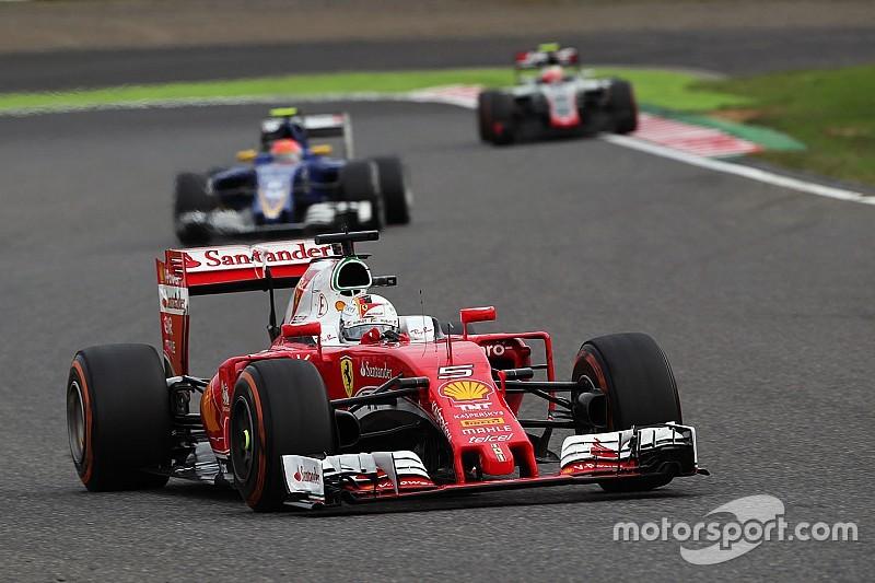Vettel, optimista pese a que le faltó el podio en Japón