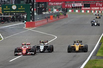 Las banderas azules no funcionaron para Ferrari