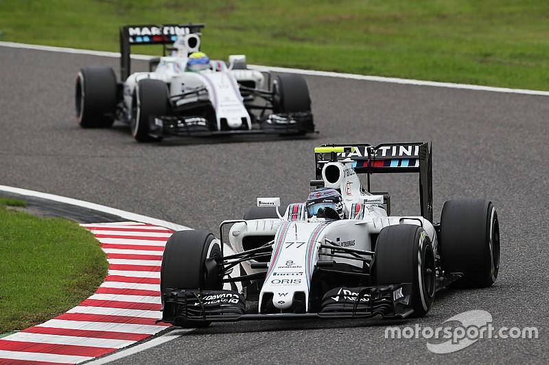 Bottas reclama a Williams la estrategia en Japón