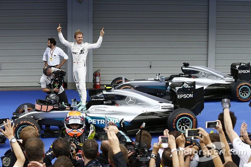 Rosberg igualó en Japón estadísticas de Senna y Alonso