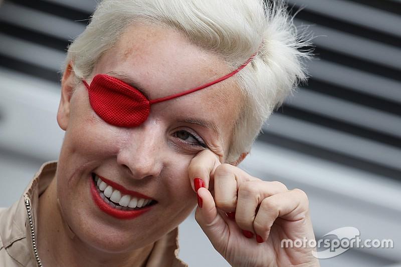 Sainz recordó a María Villota en aniversario luctuoso