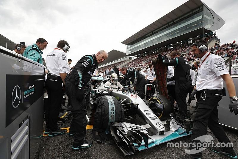 Mercedes F1 enregistre 24,5M€ de pertes