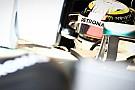 Hamilton salta il test con la Mercedes dotata di gomme larghe 2017
