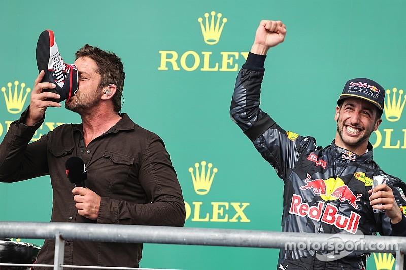 """Todas las """"víctimas"""" del 'shoey' Daniel Ricciardo"""