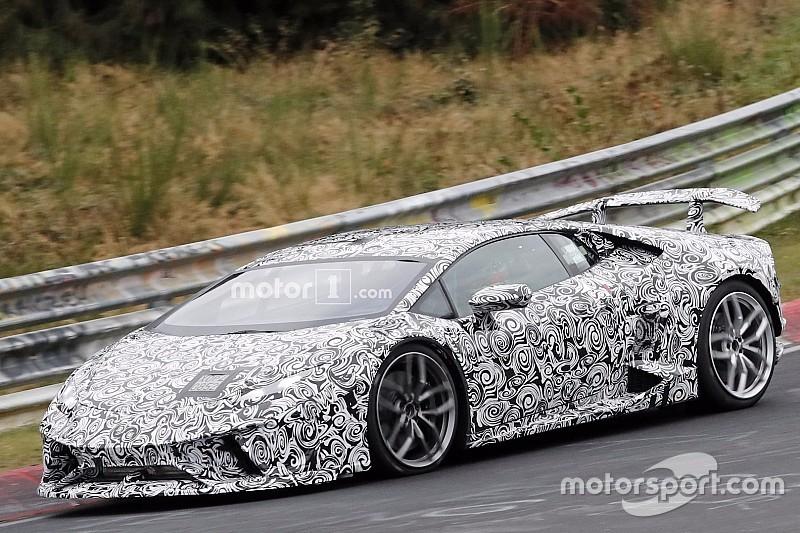 De nouveaux spyshots de la Lamborghini Huracán Superleggera