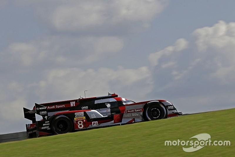 Audi logra el 1-3 en la primera práctica en Fuji