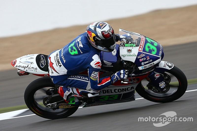Moto3日本GP:FP2 バスティアニーニがトップタイム。尾野は2番手も転倒