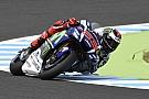 Lorenzo aan kop in tweede training GP Japan, zware crashes Pedrosa en Laverty