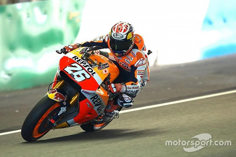 Dani Pedrosa blessé et forfait pour la suite du Grand Prix