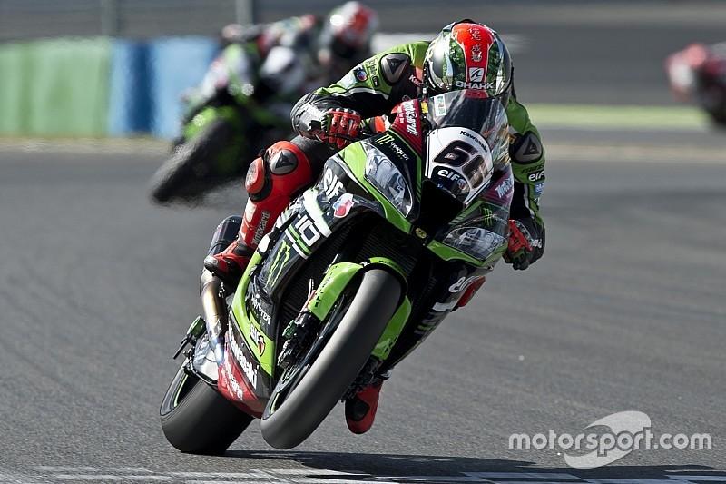 Jerez, Libere 2: Sykes avverte Rea. Davies è secondo con la Ducati