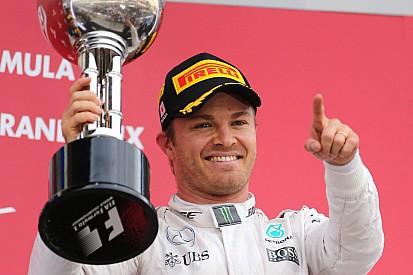 ¿A cuántos campeones de la F1 ya superó Nico Rosberg?