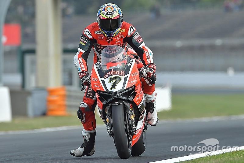 Ducati molto competitiva con Chaz Davies nelle libere di Jerez