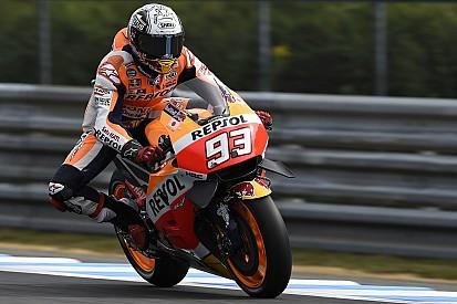 MotoGP日本GP:FP4 マルケスが首位。午前中にクラッシュのロレンソ復帰。青山転倒