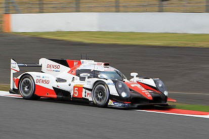 Toyota toma impulso en Fuji