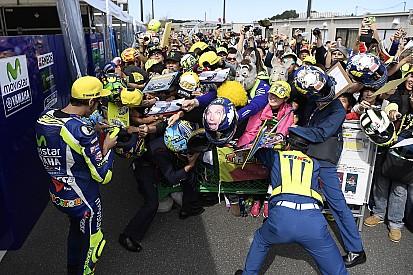 Valentino Rossi, le vieux lion rugit de nouveau