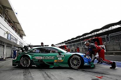 Schraube locker: Bremsprobleme bei DTM-Titelkandidat Mortara