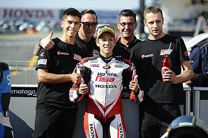 尾野「予選トップタイムは気分が良い。明日は優勝争いができる」:Moto3日本GP予選