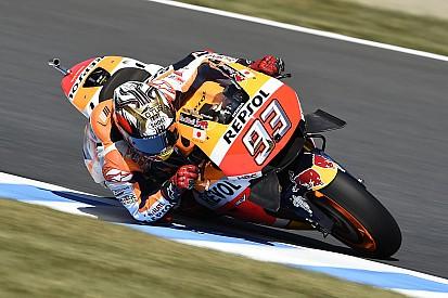 """ماركيز يهدف """"للصعود إلى منصّة التتويج وليس الفوز"""" في سباق اليابان"""