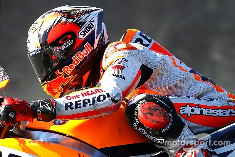 MotoGP Jepang: Marquez tercepat di WUP, Rossi kelima