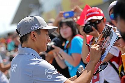 Aktivitas Rio Haryanto di GP Jepang