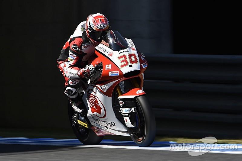 Moto2日本GP決勝:手に汗握る最終ラップ、中上は惜しくも4位。優勝はルティ