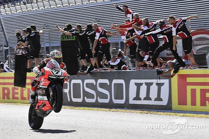 Davies-Ducati fanno doppietta a Jerez. Rea a 2 punti dal titolo