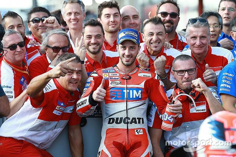 Dovizioso retrouve le chemin du podium
