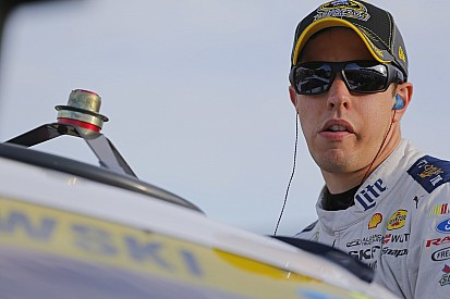 "Despite Kansas wreck, Keselowski vows to continue to ""race for wins"""