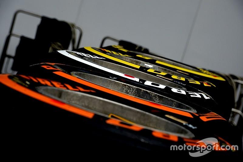 Los neumáticos para el GP de México