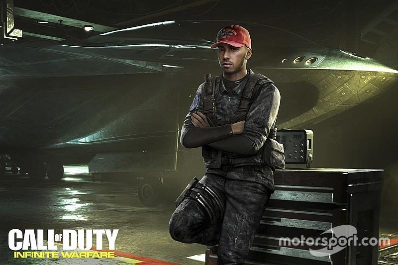 Hamilton aparecerá en el próximo 'Call of Duty'