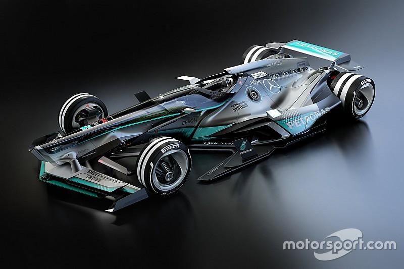 ¿Sería así el Mercedes de 2030?