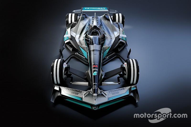 图集:幻想F1之2030年梅赛德斯概念设计