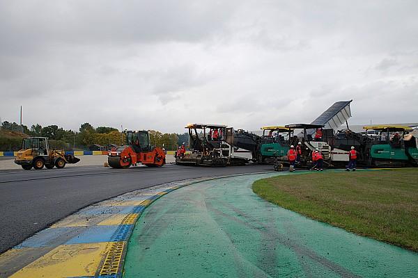 Bildergalerie: Bauarbeiten in Le Mans