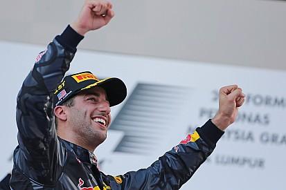 Ricciardo en meilleure forme que Hamilton, prélude de 2017?