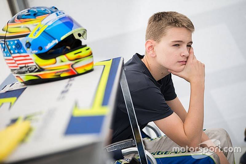 American karting star Sargeant set for single-seater debut