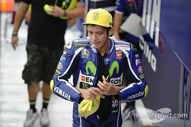 Valentino Rossi a un doigt cassé depuis Motegi