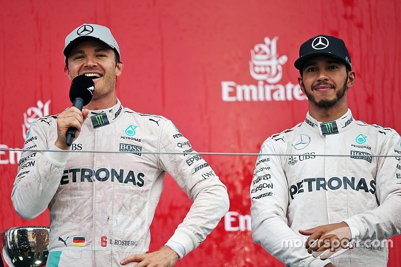 """Hamilton - Si Rosberg est Champion, je réagirai """"comme un homme"""""""