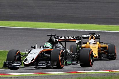 """Hülkenberg espera """"brigar por vitórias"""" na Renault"""